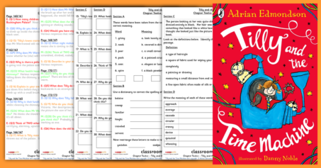 Tilly and the Time Machine Chapter Twelve Year 3 and Year 4 Whole Class Guided Reading Comprehension