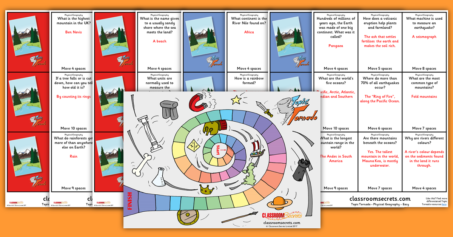 KS1 Physical Geography Board Game Topic Tornado