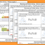 Subtract Lengths Year 3 Resources
