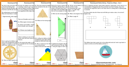 Properties of Shape Consolidation Year 6 Summer Block 1 Reasoning and Problem Solving