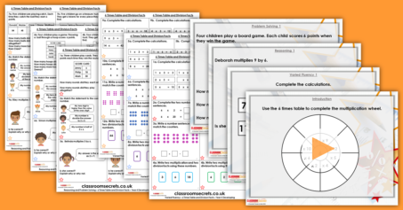 Mixed Age Year 4 and 5 Multiplication and Division Step 2 Resource Pack
