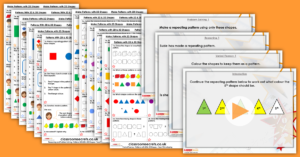Mixed Age Year 1 and 2 Properties of Shape Step 10 Resources