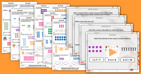 Mixed Age Year 2 and 3 Multiplication and Division Step 6 Resource Pack