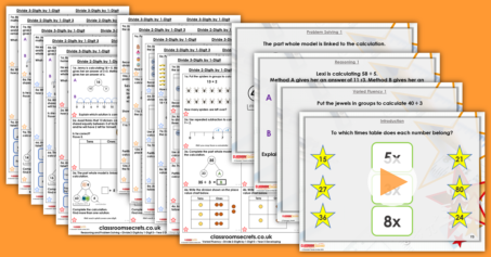 Year 3 and 4 Mixed Age Multiplication and Division Step 9 Resource Pack