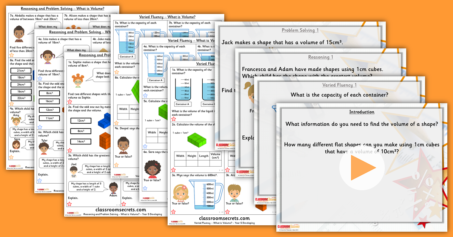 Year 4 and 5 Mixed Age Area and Volume Step 5 Resource Pack