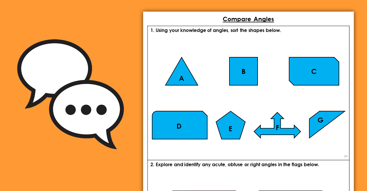 Year 3 Compare Angles Resources