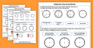 Telling the Time to the Minute Year 3