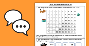 Year 1 Count and Write Numbers to 20
