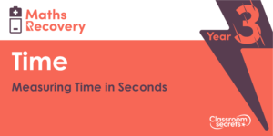 Measuring Time in Seconds Maths Recovery