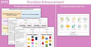 Sorting and Comparing Groups to 10 Provision